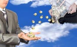 Affaires financières. Le concept Images libres de droits