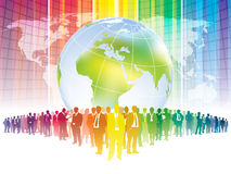 Affaires globales Image stock