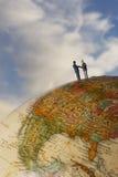 Affaires globales Photo libre de droits