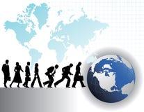 Affaires globales Photos libres de droits