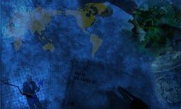 Affaires globales illustration de vecteur