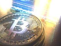 Affaires globales de Cryptocurrency Digital illustration libre de droits