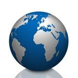 Affaires globales, la terre de planète illustration stock