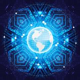 Affaires globales. Vecteur. Photo libre de droits