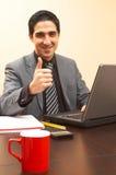 Affaires heureuses Photos stock