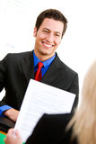 Affaires : Homme chez Job Interview Photos libres de droits