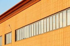 Affaires - horizon de ville d'agrafes Photo libre de droits