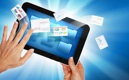 Commerce électronique d'affaires Photos stock