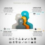 Affaires Infographic Image libre de droits