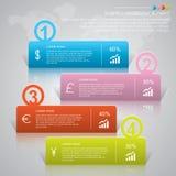 Affaires Infographic Images libres de droits
