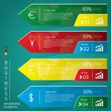 Affaires Infographic Photographie stock libre de droits