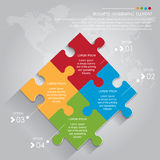 Affaires Infographic Photos stock