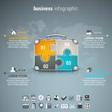Affaires Infographic Photo stock