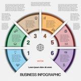 Affaires infographic pour le projet de succès et toute autre votre variante illustration de vecteur