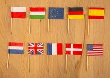 Affaires internationales Photo libre de droits