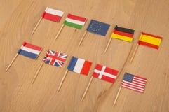 Affaires internationales Photo stock