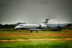 Affaires Jet Takes Off images libres de droits