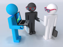Affaires la transaction Photos libres de droits