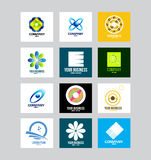 Affaires Logo Set d'entreprise illustration stock