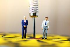 Affaires miniatures images libres de droits