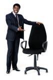 Affaires noires recruteuses Image libre de droits