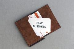 Affaires nouvelles Photos stock