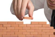 Affaires nouvelles de construction Images libres de droits
