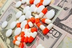 Affaires pharmaceutiques Photos stock