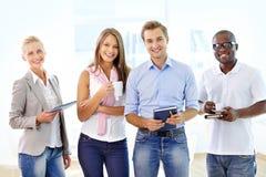 Affaires positives Photo stock