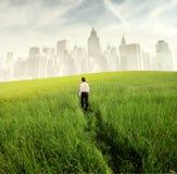 Affaires pour l'environnement Image libre de droits