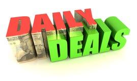 Affaires quotidiennes Image stock