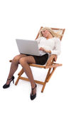 Affaires Relaxed Image stock