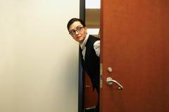 Affaires Sneaky Photo stock