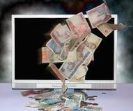 Affaires sur l'Internet Photo stock