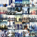 Affaires Team Collaboration Success Start Concept d'entreprise Images libres de droits