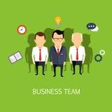 Affaires Team Concept Art Image libre de droits