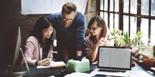 Affaires Team Corporate Marketing Working Concept image libre de droits