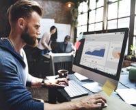 Affaires Team Corporate Marketing Working Concept photos libres de droits