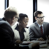 Affaires Team Corporate Organization Meeting Concept photographie stock