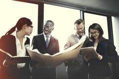 Affaires Team Corporate Organization Meeting Concept image stock