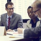 Affaires Team Corporate Organization Meeting Concept image libre de droits