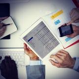Affaires Team Corporate Organization Meeting Concept photographie stock libre de droits