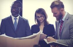 Affaires Team Corporate Organization Working Concept image libre de droits