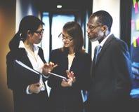 Affaires Team Corporate Organization Working Concept photos libres de droits