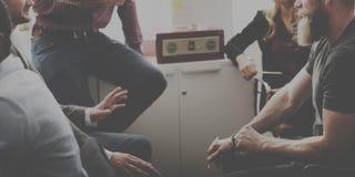 Affaires Team Discussion Meeting Corporate Concept photo libre de droits