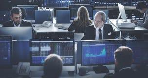 Affaires Team Investment Entrepreneur Trading Concept image libre de droits