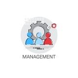 Affaires Team Leadership Icon de gestion Photo stock