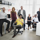 Affaires Team Professional Occupation Workplace Concept image stock