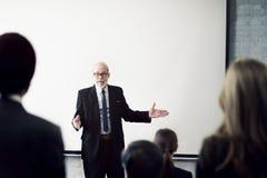 Affaires Team Seminar Listening Meeting Concept photos libres de droits