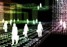 Affaires virtuelles 04 Photo stock